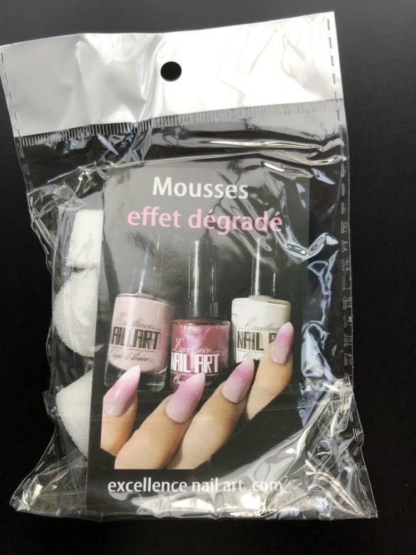 Kit de mousses effet dégradé