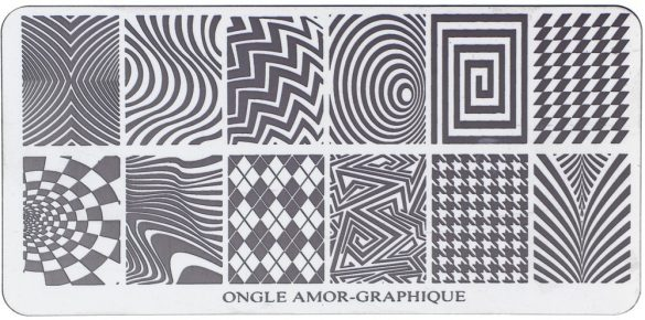 Plaque Graphique ONGLE AMOR