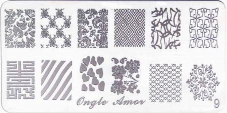 Plaque de stamping 9