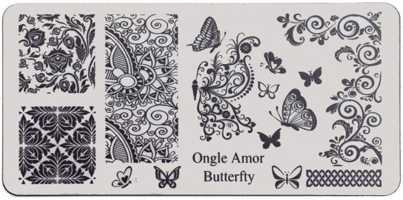 Butterfly – plaque de stamping