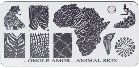Animal Skin - plaque de stamping