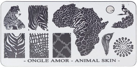 Animal Skin – plaque de stamping