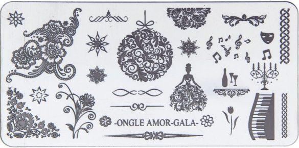 Gala – plaque de stamping