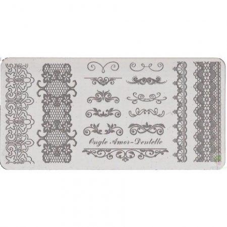 Dentelle - plaque de stamping