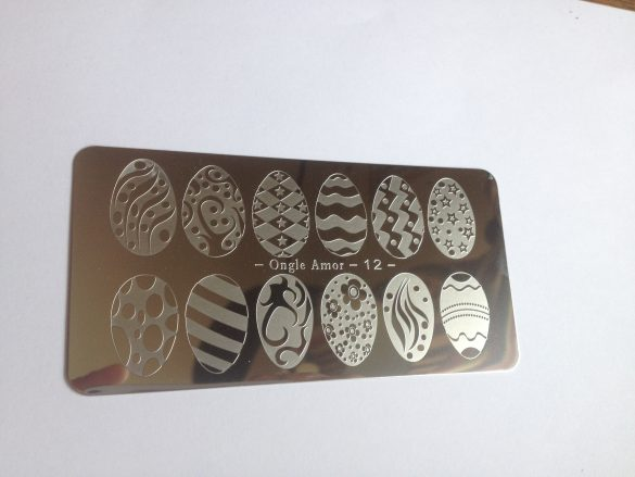 Plaque stamping 12