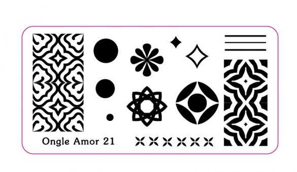 Plaque n°21 ONGLE AMOR
