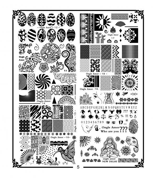 Plaque de stamping A4 N5