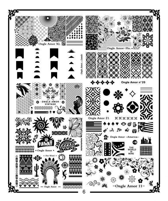 Plaque de stamping A4 N6