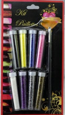 Kit Paillettes Tubes