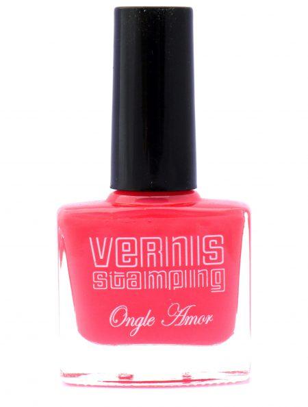 Vernis Stamping Corail -