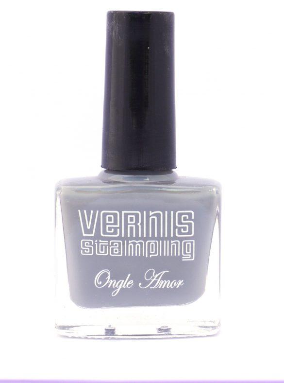 Vernis Stamping Gris-