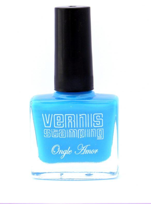 Vernis Stamping Bleu