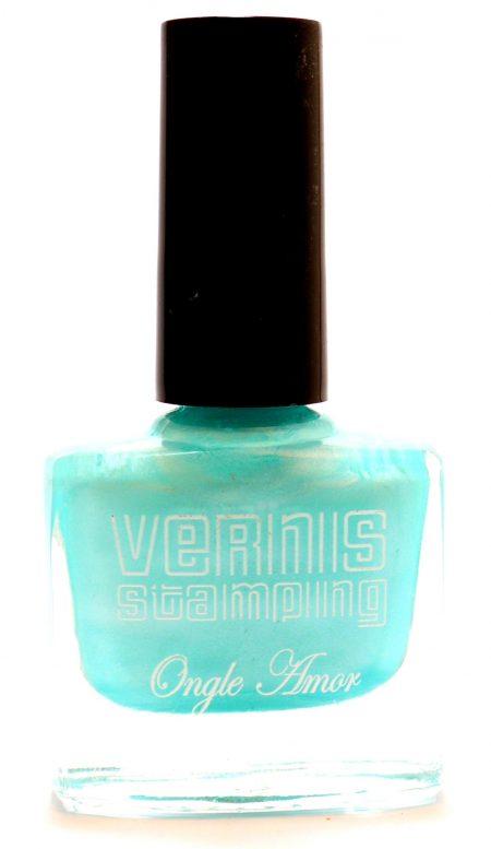Vernis Stamping Vert Nacre -