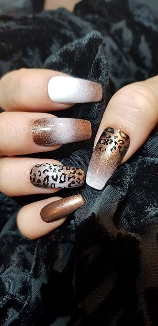 Vernis Stamping Exellence Nail Art NOISETTE