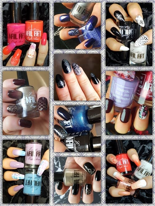 Vernis Stamping Exellence Nail Art LILAS