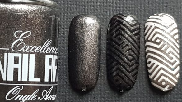 Vernis Stamping – Anthracite – Excellence Nail Art
