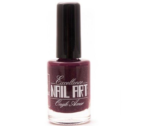 Vernis Stamping – Lie de vin – Excellence Nail Art