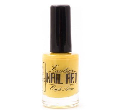 Vernis Stamping – Jaune tendre – Exellence Nail Art