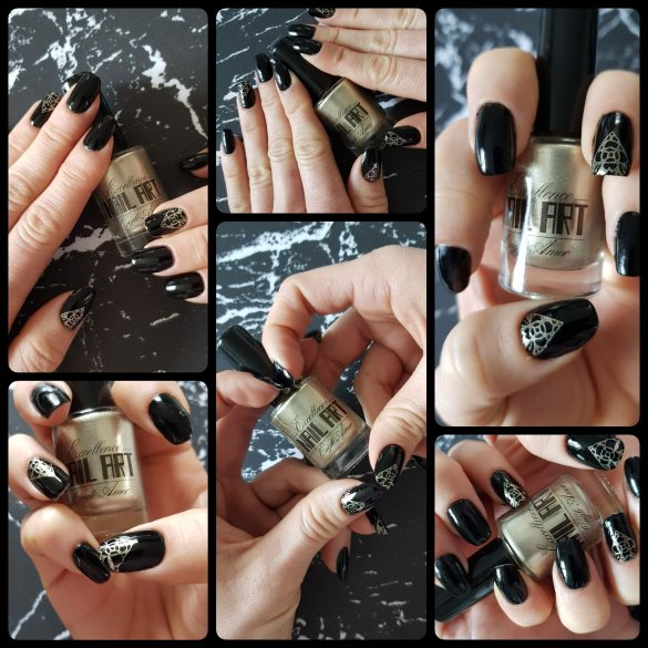 Vernis Stamping – Sable champagne – Excellence Nail Art