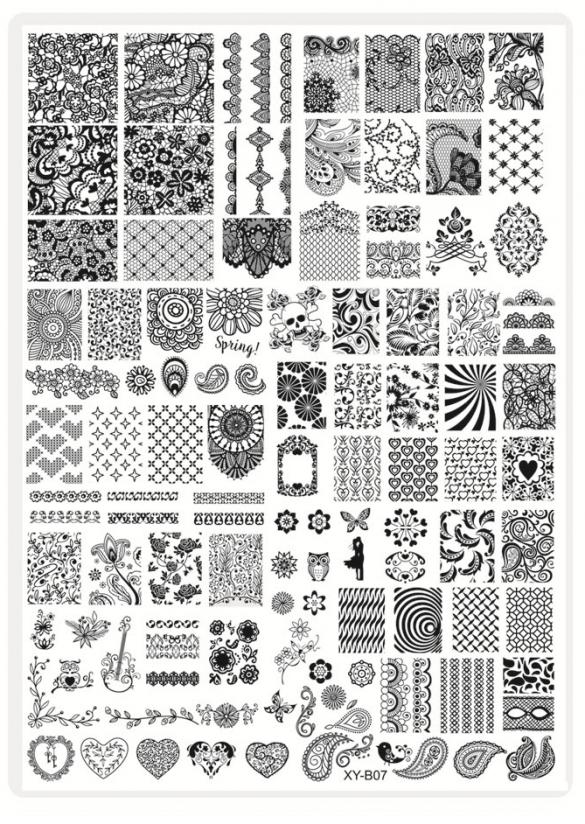 Plaque Stamping XLn°7 Nouvelle génération