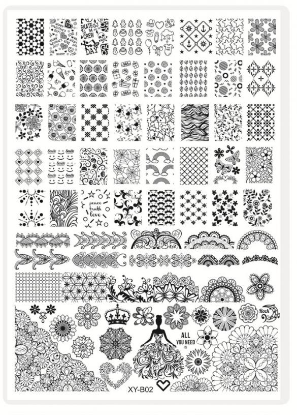 Plaque Stamping XLn°2Nouvelle génération