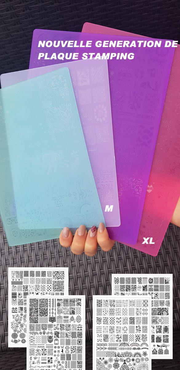 Plaque Stamping M n°13 Nouvelle Génération