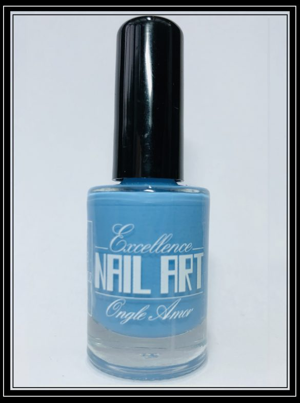 Vernis Stamping – Bleu pastel – Excellence Nail Art