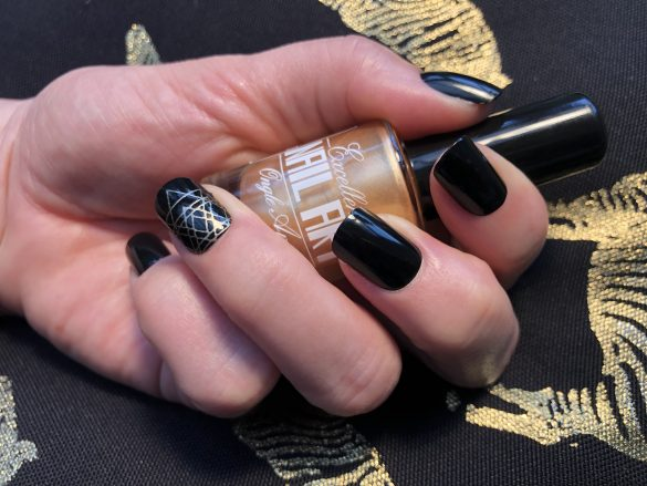 Vernis Stamping – Or – Excellence Nail Art