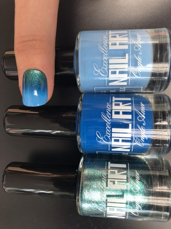 Vernis Stamping – Bleu Electrique – Excellence Nail Art