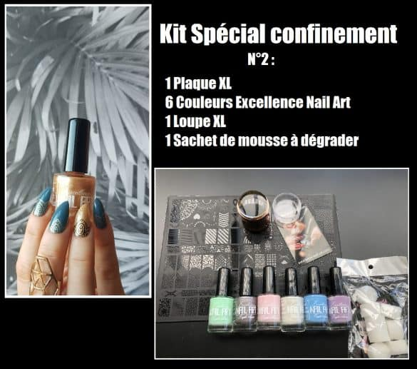 Kit spécial confinement 2- Excellence Nail Art